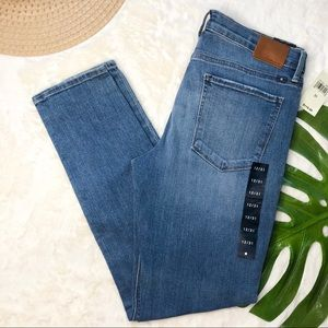 Lucky Brand Brooke Skinny Mid Rise Jeans